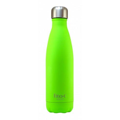fito.C - Green Mat Velvet Thermos Bottle - Zöld Mattbársony Termosz Palack
