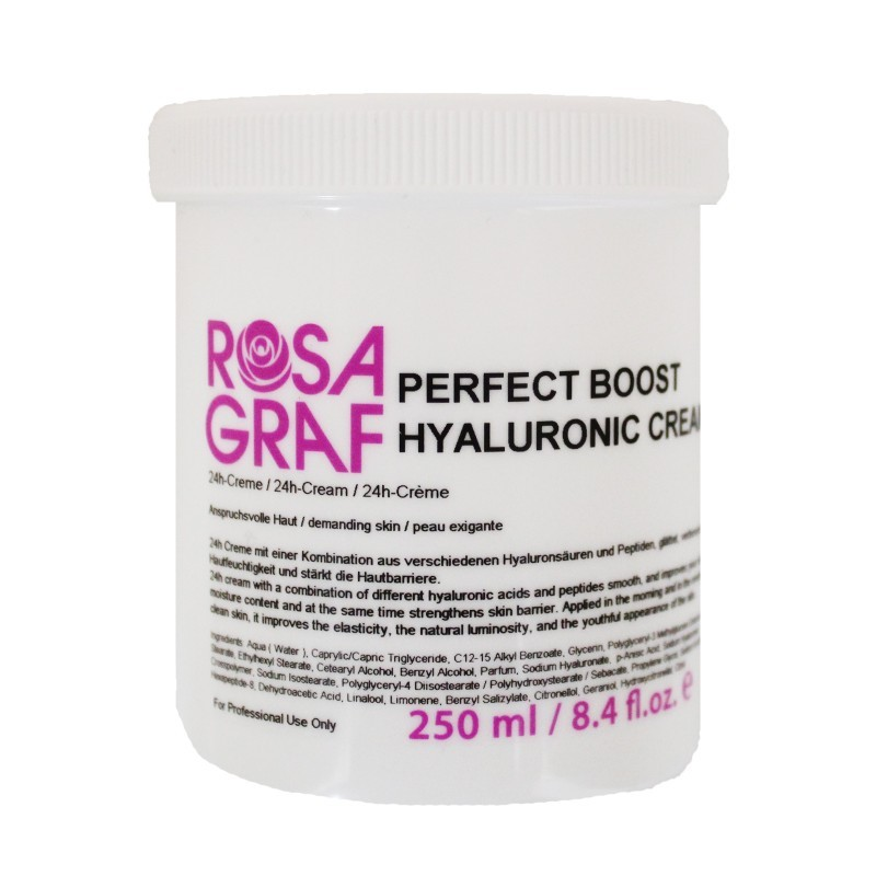 Rosa Graf - Perfect Boost Hyaluronic Cream - Hyaluron és Pep
